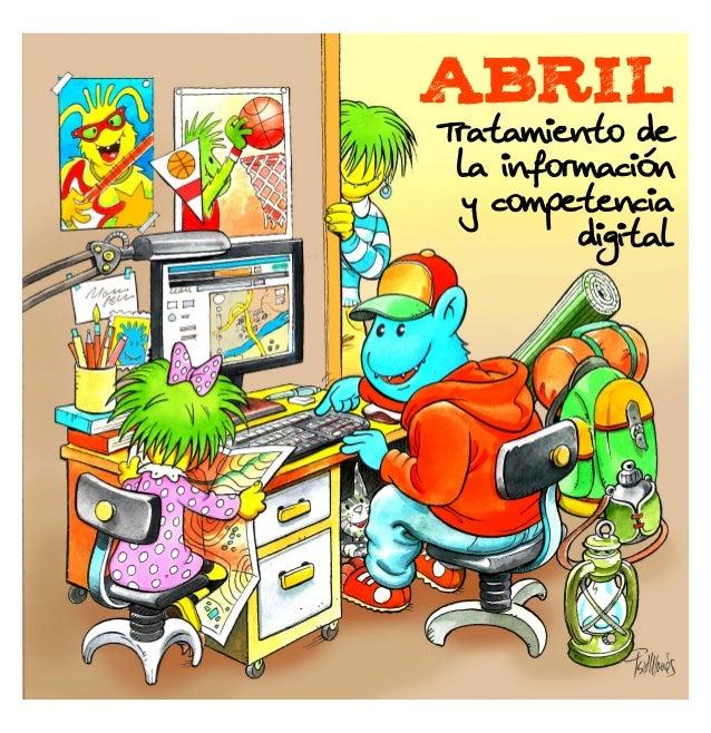 ABRIL Tratamiento de la información y competencia digital