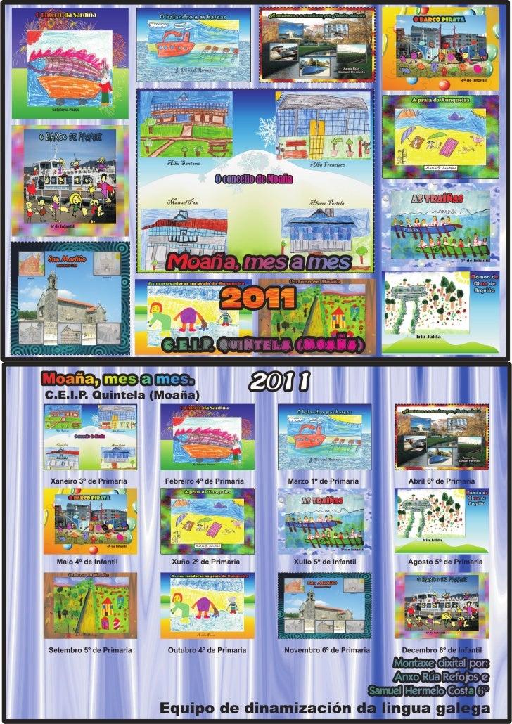 Calendario deseño