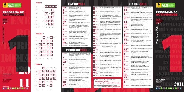 Calendario eoi (1er trimestre 2011)