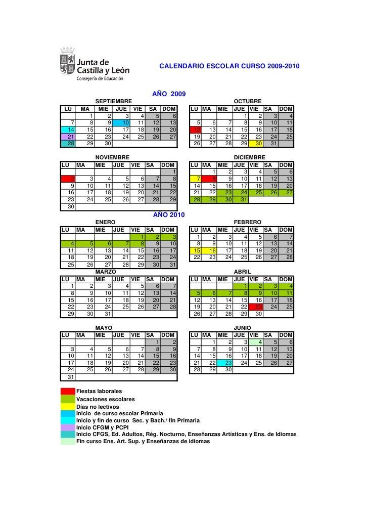 Aragon Calendario Escolar.Calendario Escolar 09 10