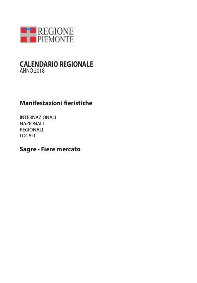 Calendario Sagre.Calendario Fiere E Sagre In Piemonte 2018