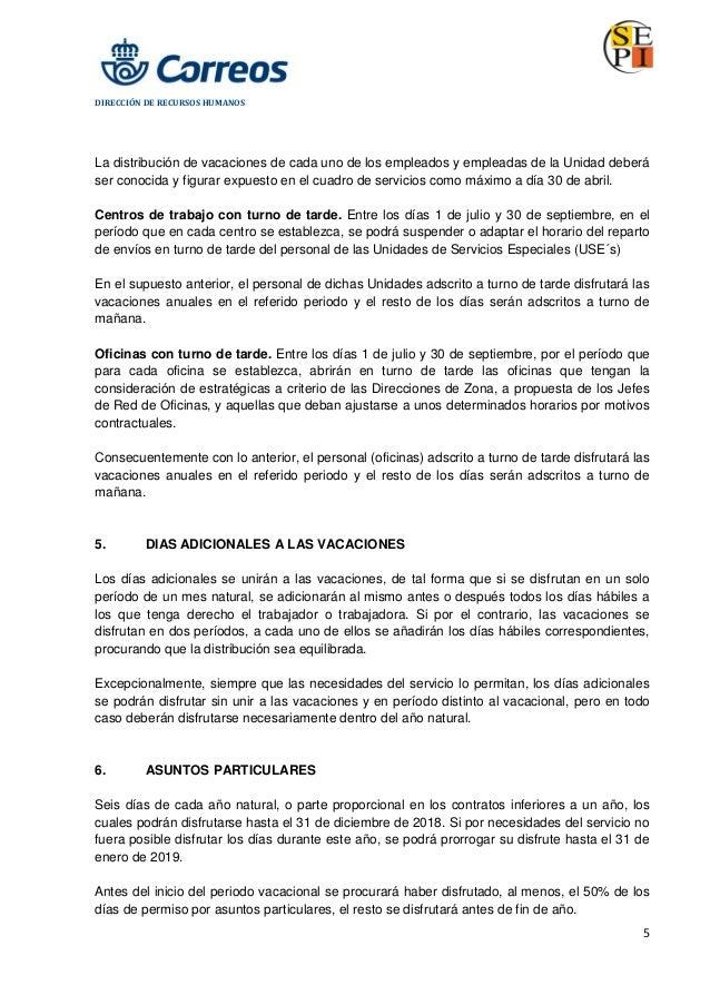 Calendario Laboral Oviedo 2019.Correos Calendario Laboral 2018
