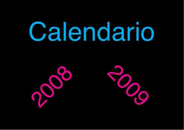 Calendario       20 08        09 20