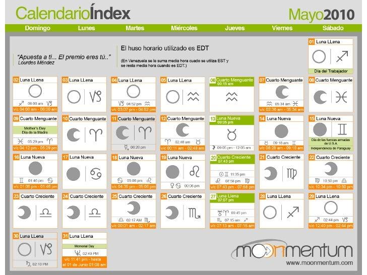 Calendario Lunar De Siembra.Calendario Facebook
