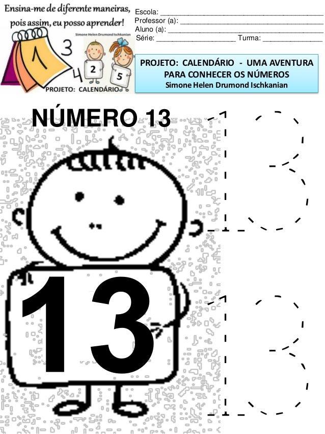 Calendario Plano E Atividades