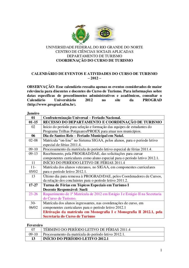 UNIVERSIDADE FEDERAL DO RIO GRANDE DO NORTE               CENTRO DE CIÊNCIAS SOCIAIS APLICADAS                    DEPARTAM...