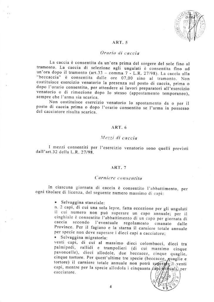Regione Puglia Calendario Venatorio.Calendario Venatorio Regione Puglia 2011 2012