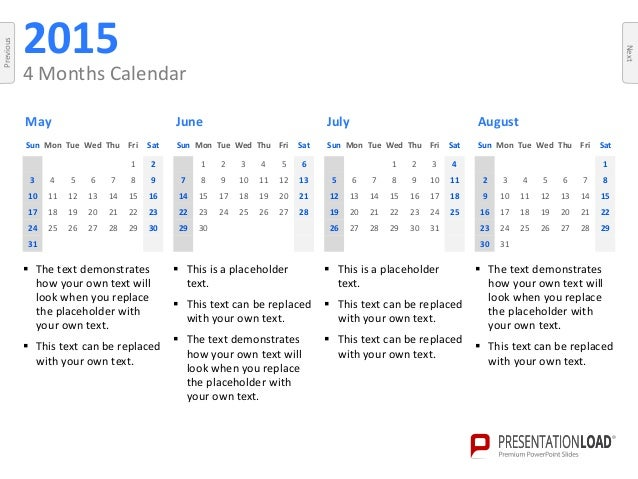 Powerpoint calendars 2015 template toneelgroepblik Gallery