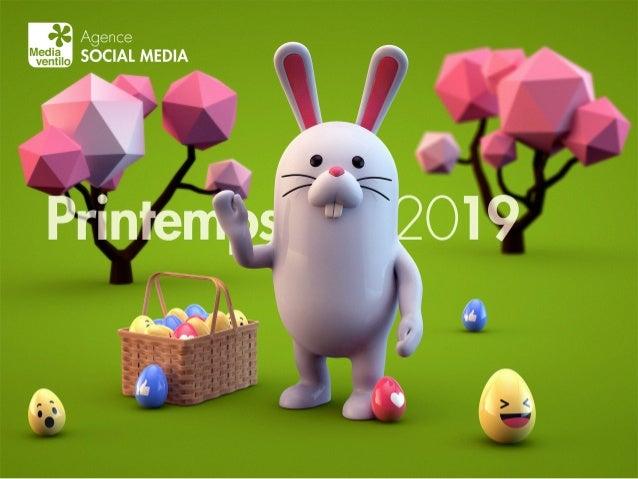 Calendrier social media 2019 par Mediaventilo
