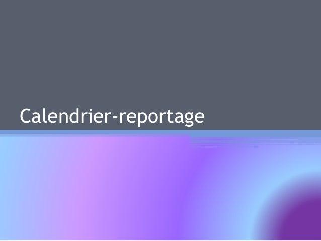 Calendrier-reportage