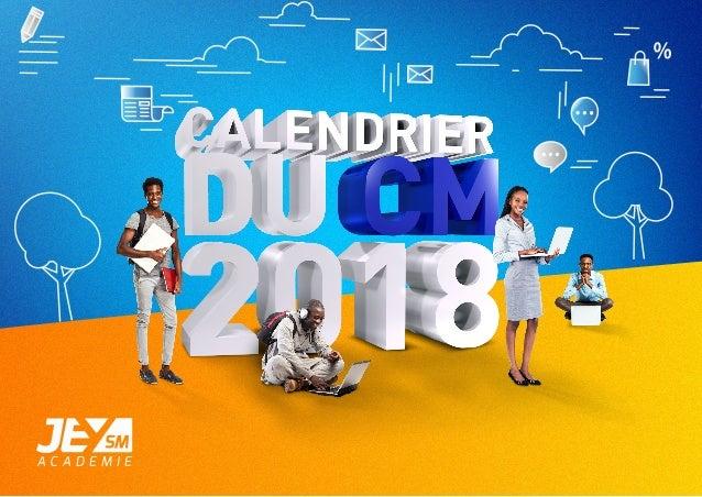 Calendrier Digital.Le Calendrier Digital 2018 Pour Le Community Manager En Cote