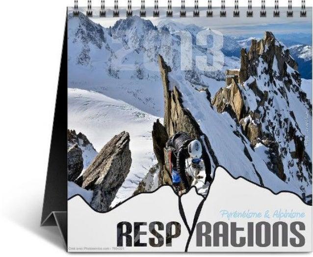 Calendrier respyrations 2013