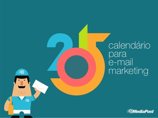 calendário  para  e-mail  marketing