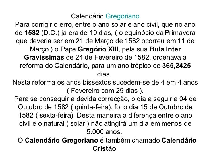 Calendario Gregoriano.Calendarios E Historia