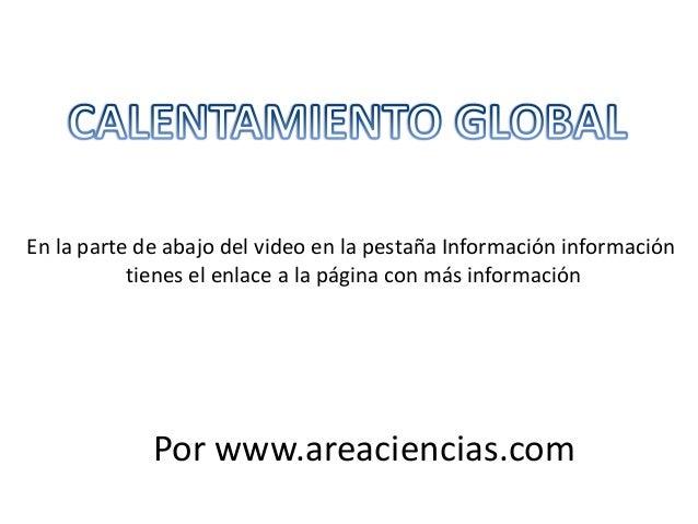 En la parte de abajo del video en la pestaña Información información tienes el enlace a la página con más información Por ...
