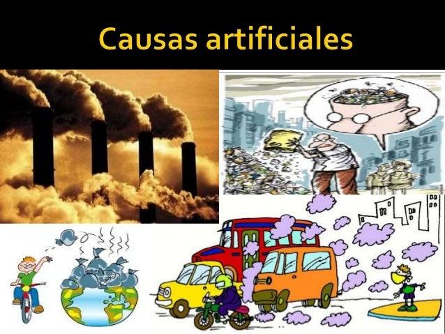 Calentamiento Global Causas Y Consecuencias