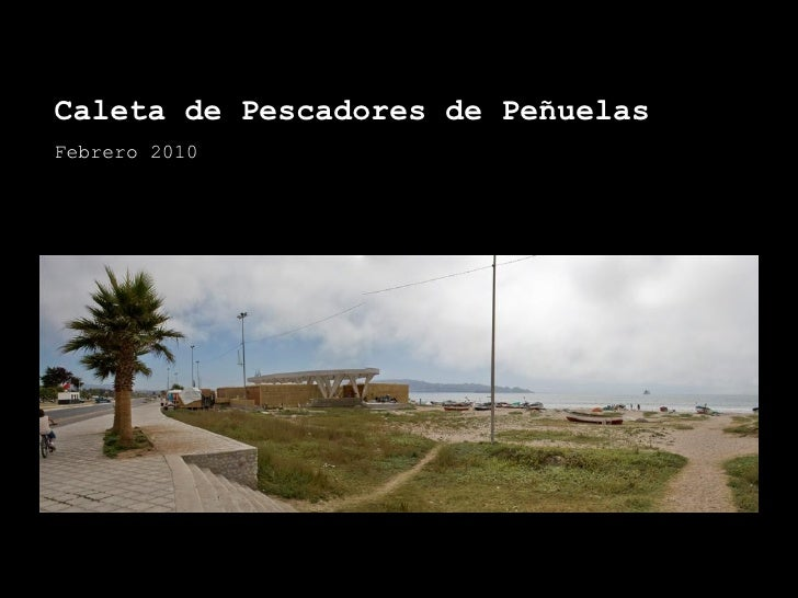 Caleta de Pescadores de Peñuelas Febrero 2010