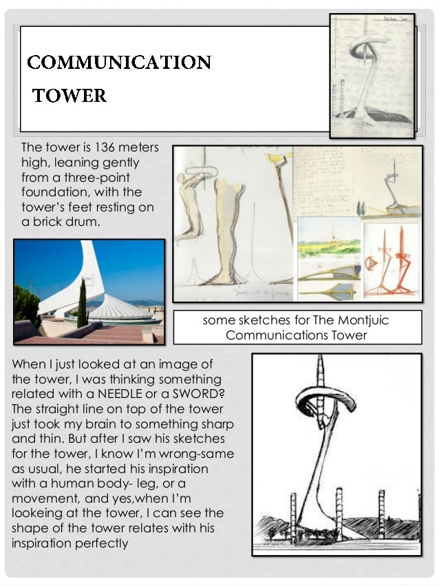 """The base of tower, is closed by a door formed using metal blades. It""""s renewing his interest in moveable elements in archi..."""