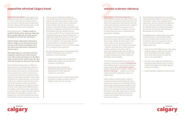 Calgary 2013 Marketing Plan
