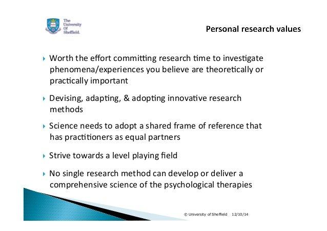 Practice-based Evdience (Michael Barkham, 2014) Slide 2