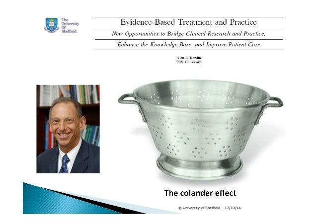 Practice-based Evdience (Michael Barkham, 2014) Slide 3