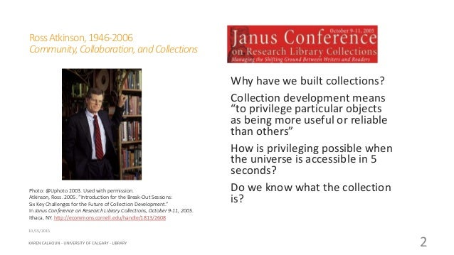 What Does It Mean to Have Collections? Slide 2