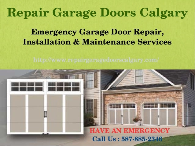 Bon Repair Garage Doors Calgary Emergency Garage Door Repair, Installation U0026  Maintenance Services Http:/ ...