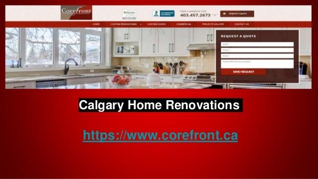 Calgary Home Renovations https://www.corefront.ca