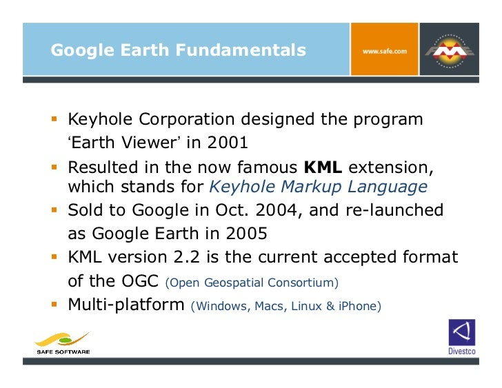 An Integrated Approach to Migrating Mapping Data to Google Earth