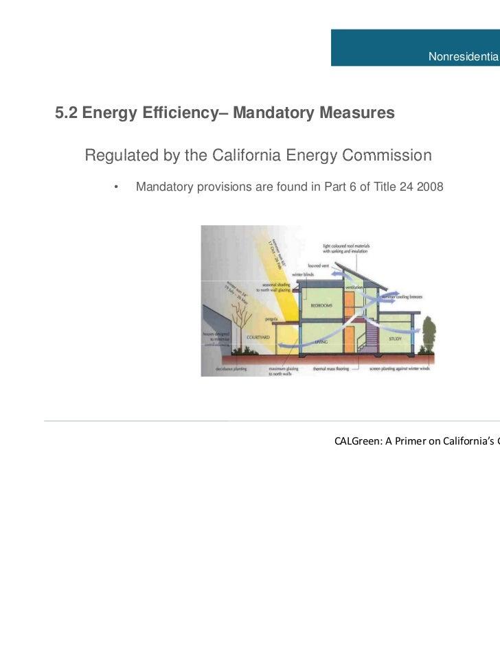California Green Building Standards Code Net Zero Energy