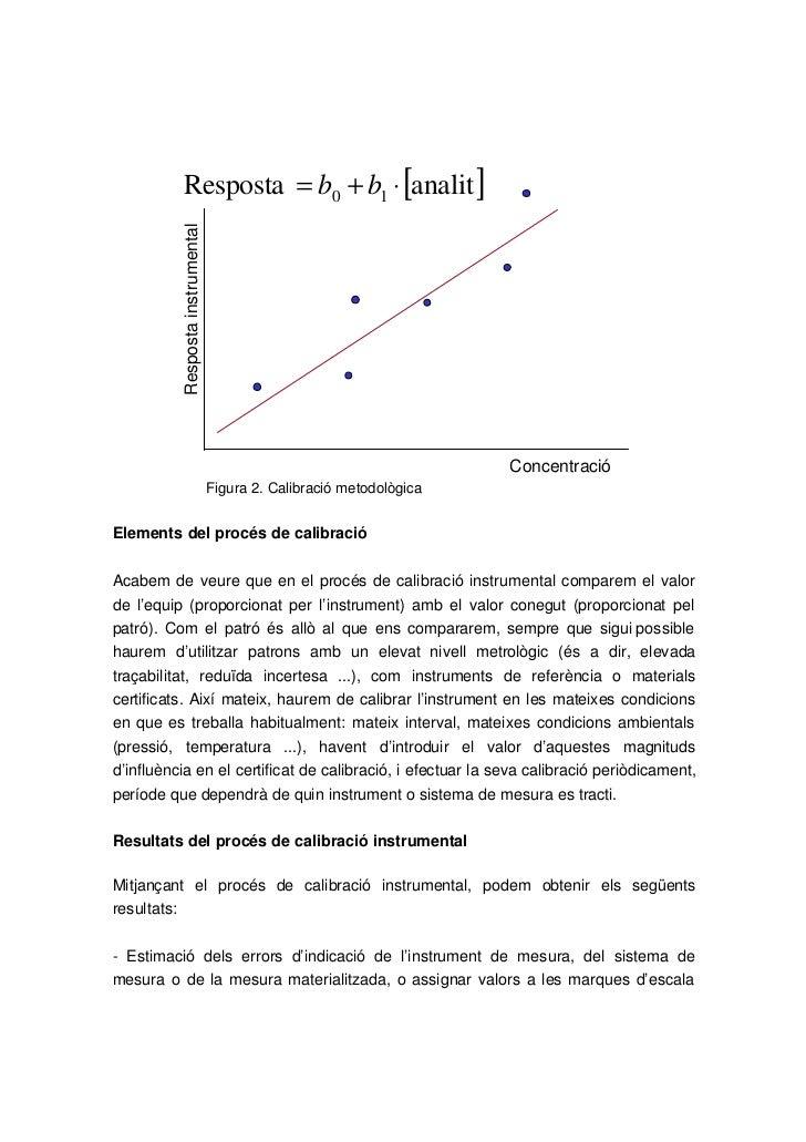 Resposta = b0 + b1 ⋅ [analit ]          Resposta instrumental                                                             ...