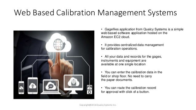 A web based management system
