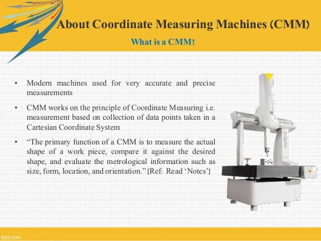 types of coordinate measuring machine pdf