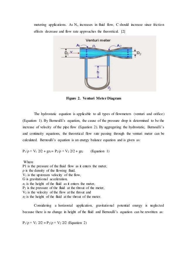Calibration of venturi and orifice meters