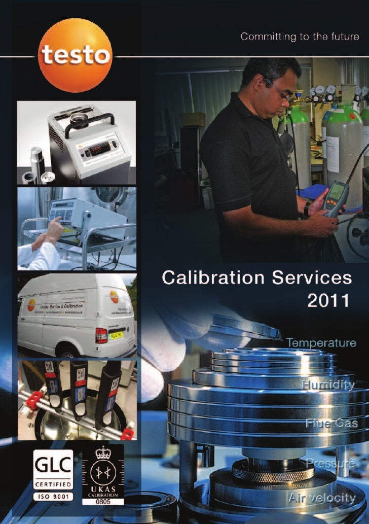 Service and Calibration Centre Testo Ltd has over 50 years of experience in the design, development and manufacture of sen...