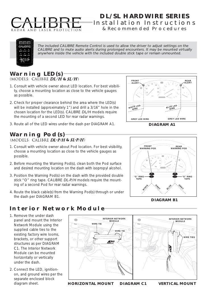 Calibre Hardwire Install Guide