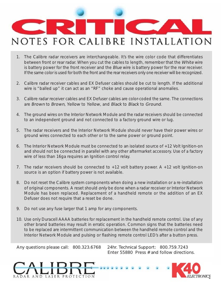 Calibre Install Guide