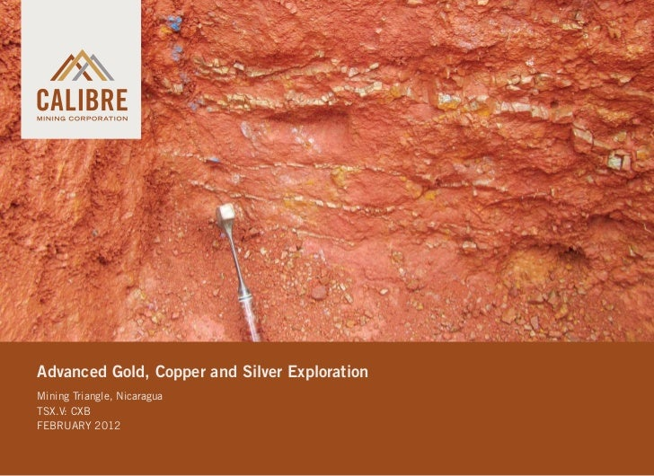 Advanced Gold, Copper and Silver ExplorationMining Triangle, NicaraguaTSX.V: CXBFEBRUARY 2012