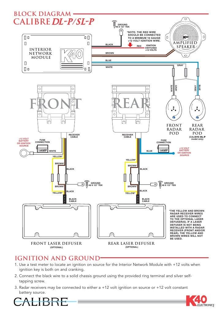 calibre wiring guide rh slideshare net Amp Meter Wiring Diagram wiring voltage gauge boat