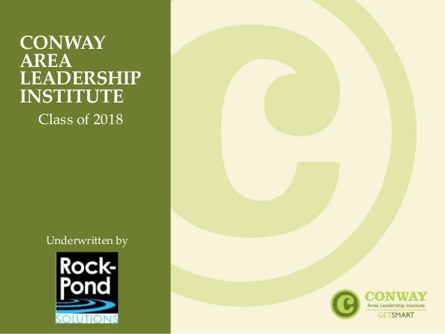 Tremendous Conway Area Leadership Institute Class Of 2018 Download Free Architecture Designs Embacsunscenecom
