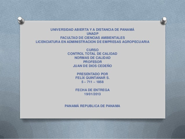 UNIVERSIDAD ABIERTA Y A DISTANCIA DE PANAMÁUNADPFACULTAD DE CIENCIAS AMBIENTALESLICENCIATURA EN ADMINISTRACION DE EMPRESAS...