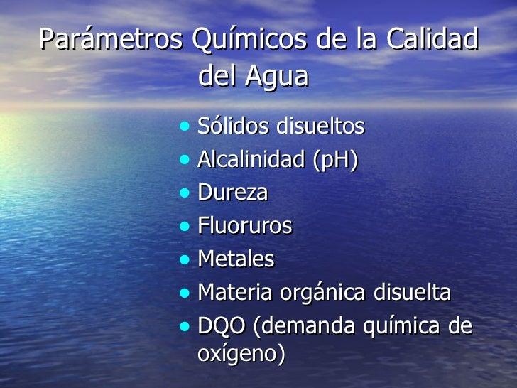 Calidad y tratamiento del agua - Tratamiento de agua ...