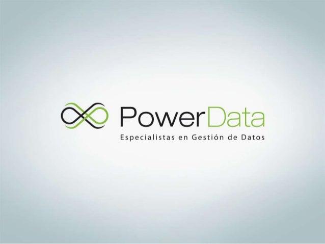 """""""Soluciones de Gestiónde Datos""""Luis RodriguezLima, lunes, 13 de mayo de 2013"""