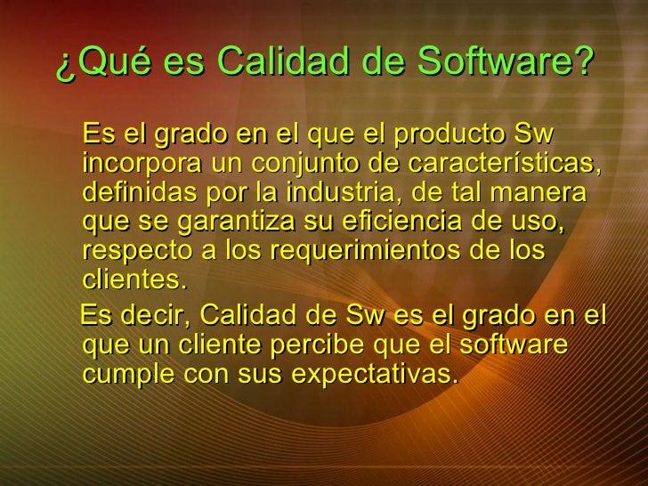 Calidad Del Producto Software Slide 3