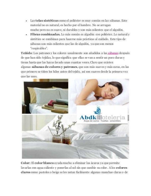 Calidad de sabanas proveedor hotelero peru for Sabanas de calidad