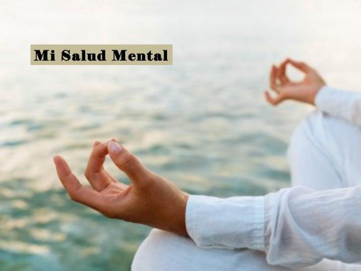 Mi Salud Mental