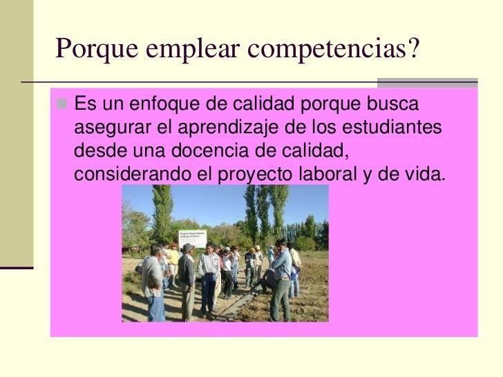 Calidad educativa y el enfoque por competencias Sergio Tobon Slide 3