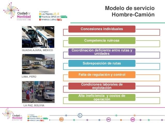 Calidad del servicio de transporte p blico m rio c rdova - Servicio de transporte ...