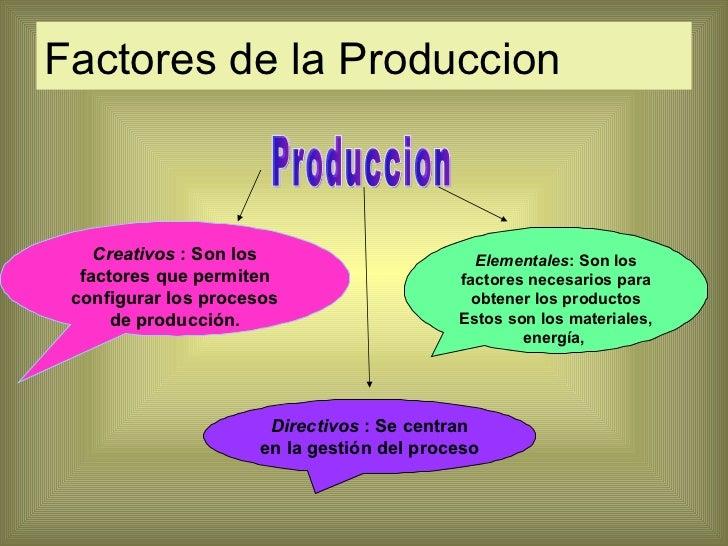 Calidad en produccion y servicio for Descripcion del proceso de produccion