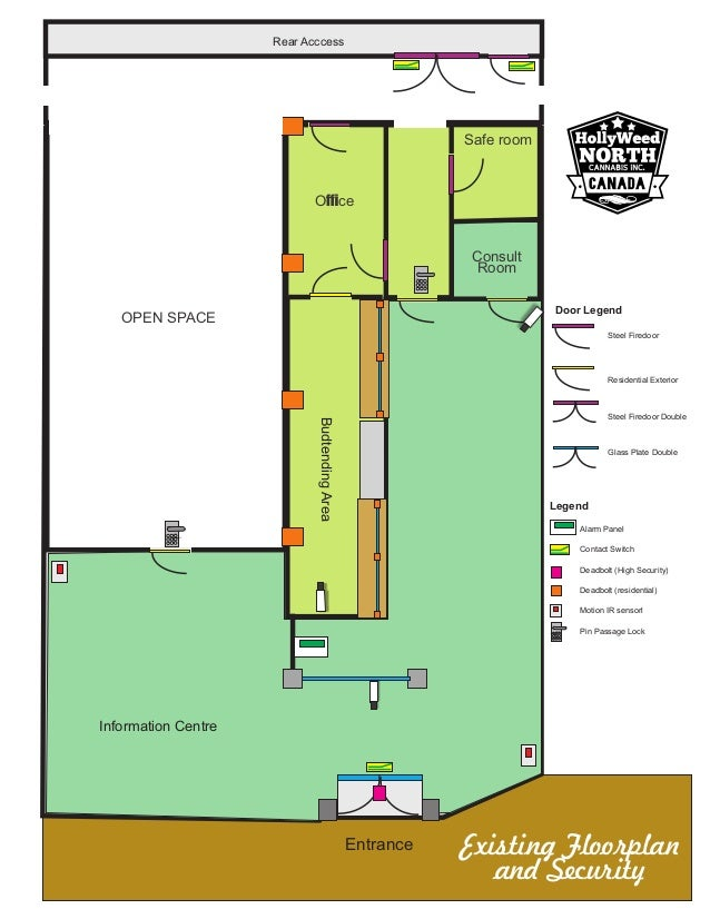 A California Cannabis Dispensary Floorplan Example